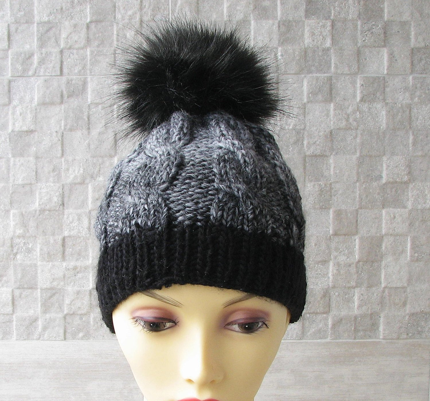 Elegant Knitted Chemo Hat for Women Knit Hats with Pom Pom Beanie Hat Knitted Chemo Hats Of Incredible 50 Models Knitted Chemo Hats