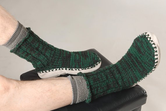 Elegant Knitted Slippers Boots soles Man Woman Adult socks Slipper soles for Knitting Of Superb 40 Images Slipper soles for Knitting