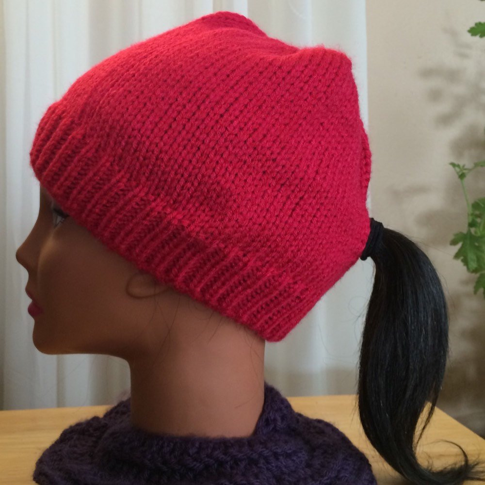 Elegant Knitted Stocking Cap with A Hole for Your Ponytail by Ponycaps Stocking Cap with Ponytail Hole Of Unique 36 Models Stocking Cap with Ponytail Hole