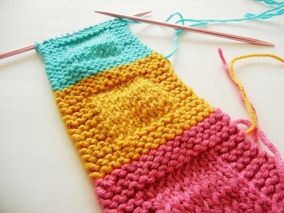 Elegant Knitting Blankets and Squares On Pinterest Knitted Square Patterns Of Lovely 50 Models Knitted Square Patterns