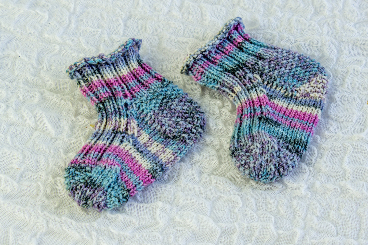 knitting pattern baby sock pattern quick