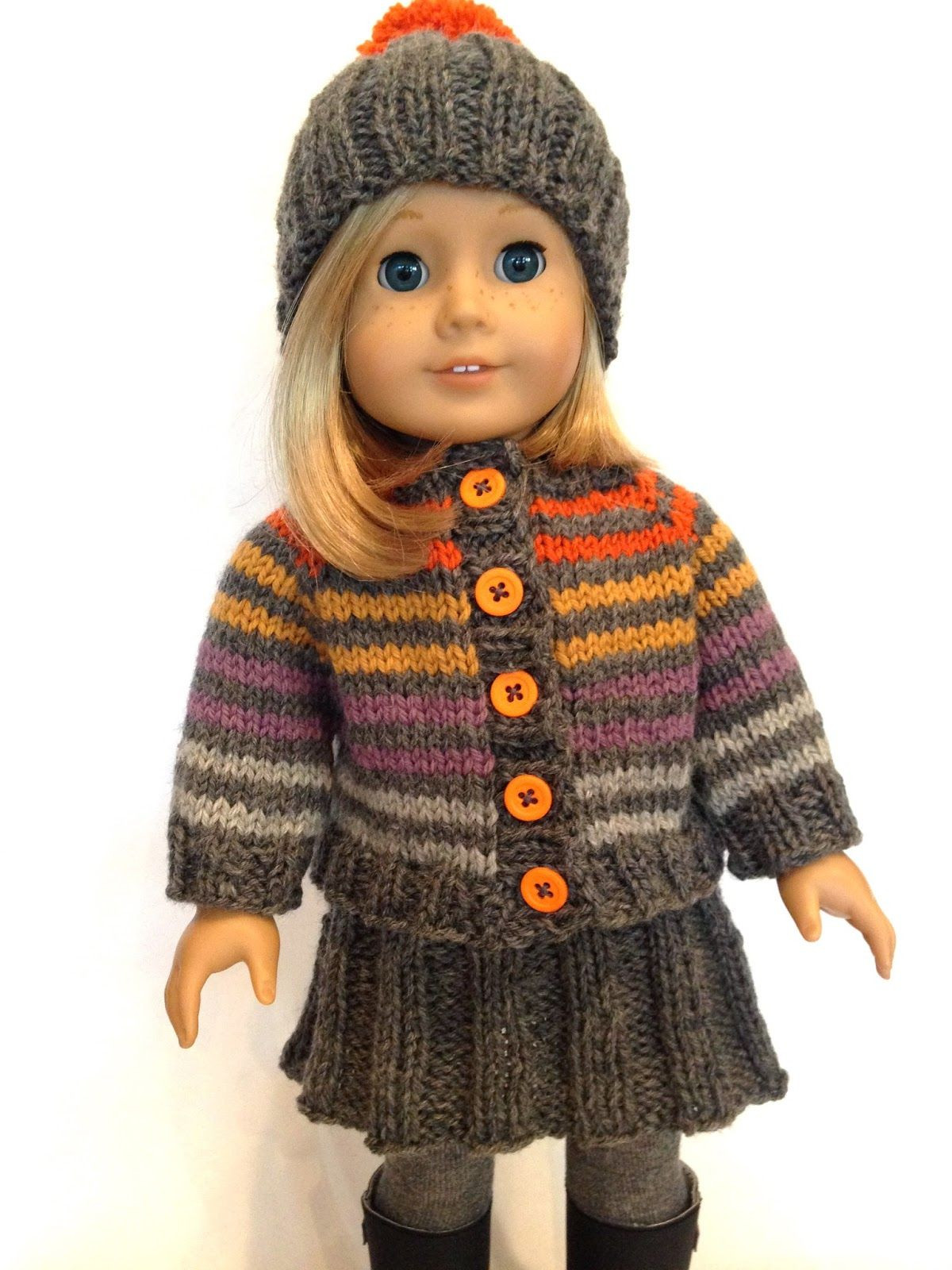 Elegant Knitting Pattern for Doll Hat Sweater and Skirt Free Knitting Patterns for American Girl Dolls Of Delightful 41 Models Free Knitting Patterns for American Girl Dolls