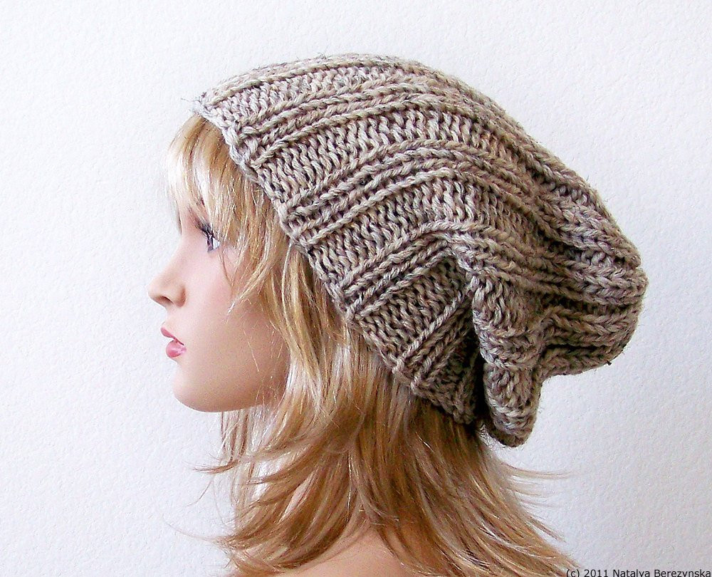 Elegant Knitting Pattern Knit Slouchy Beanie Pattern Slouchy Hat Knit Slouchy Beanie Of Lovely 42 Images Knit Slouchy Beanie