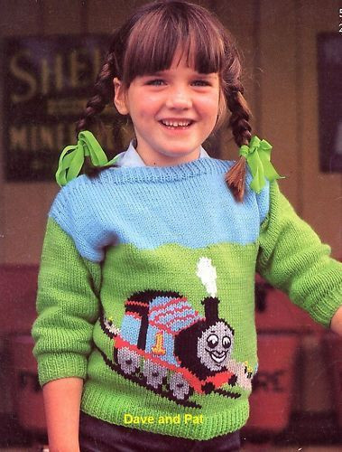 "Elegant Knitting Pattern Thomas the Tank Engine Sweater 20"" 28 Knitting Patterns for Childrens Sweaters Of Charming 47 Models Knitting Patterns for Childrens Sweaters"