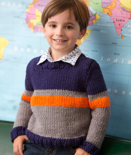 Knitting Patterns Galore Big Boy Sweater