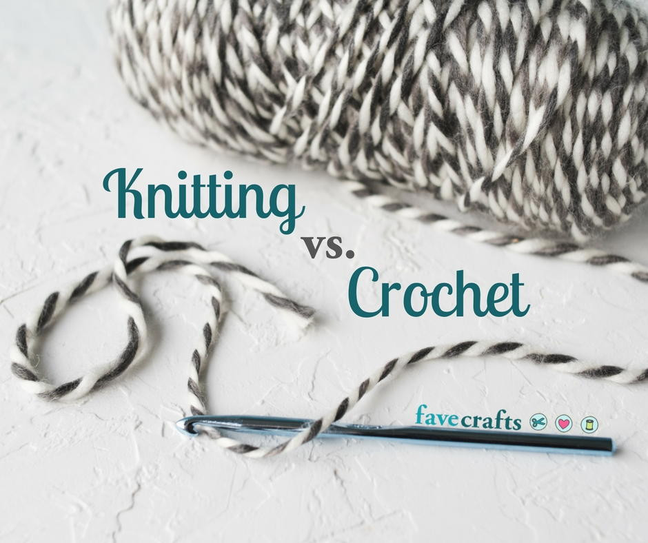 Elegant Knitting Vs Crochet What S the Difference Crochet Vs Knit Of Perfect 40 Images Crochet Vs Knit