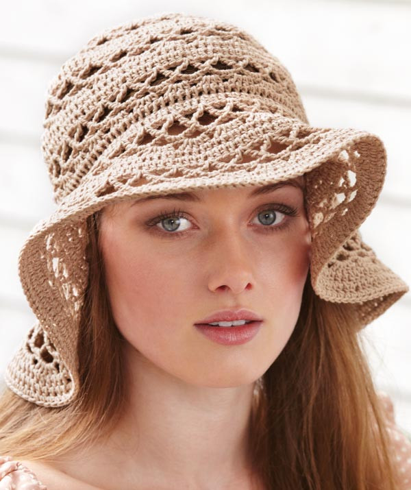 La s Crochet Hat pattern
