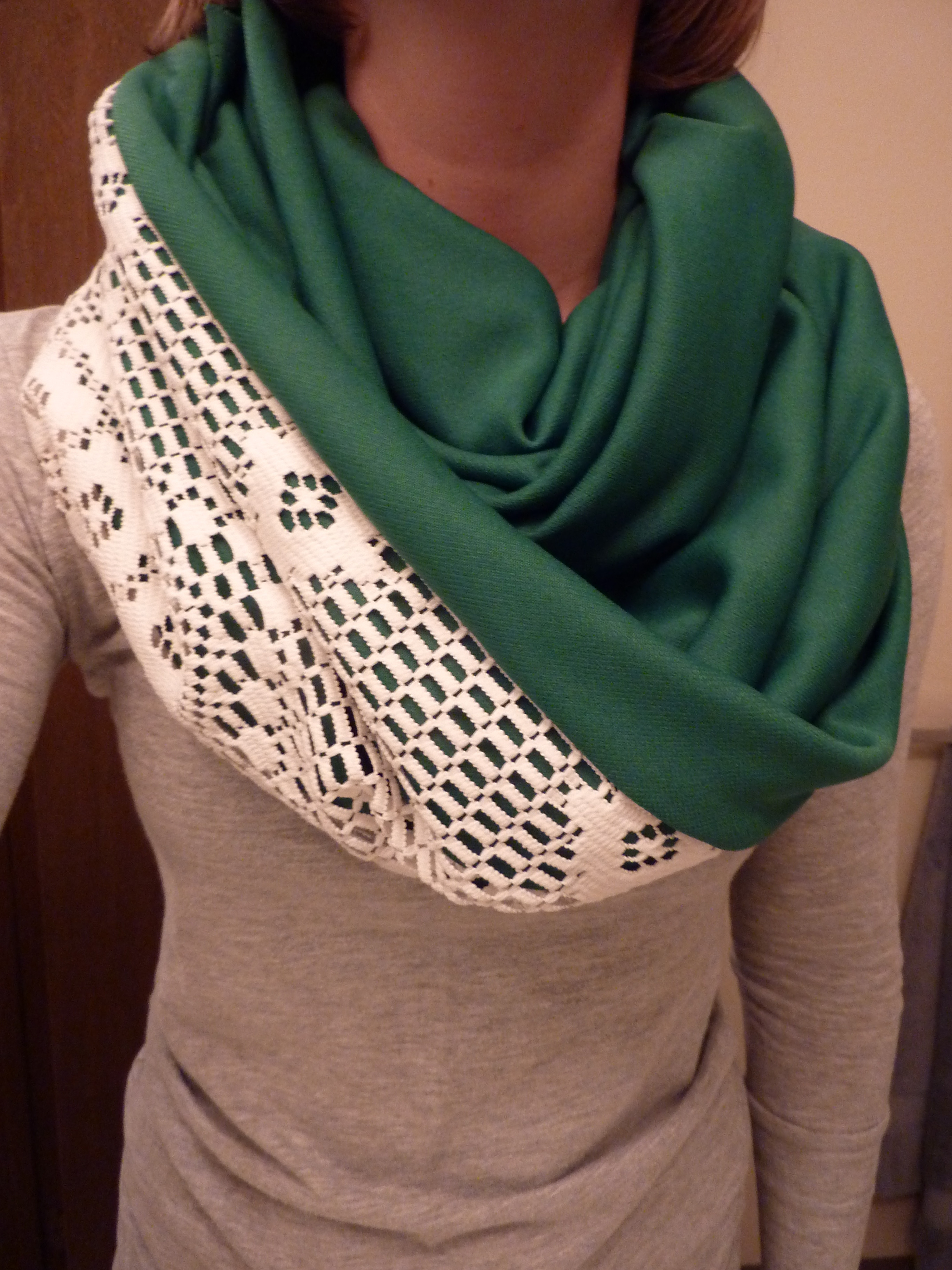 Elegant Lace Infinity Scarf Tutorial In which I Give You A Lace Infinity Scarf Of Charming 45 Ideas Lace Infinity Scarf