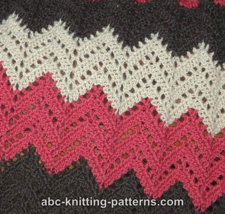 Elegant Lace Ripple Afghan This Site Has A Great Menu for Lots Different Types Of Crochet Stitches Of Innovative 44 Images Different Types Of Crochet Stitches