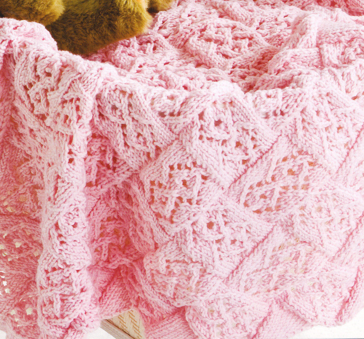 Elegant Lace Stitch Entrelac Baby Blanket Dk Knitting Pattern Lace Blanket Of Great 41 Ideas Lace Blanket