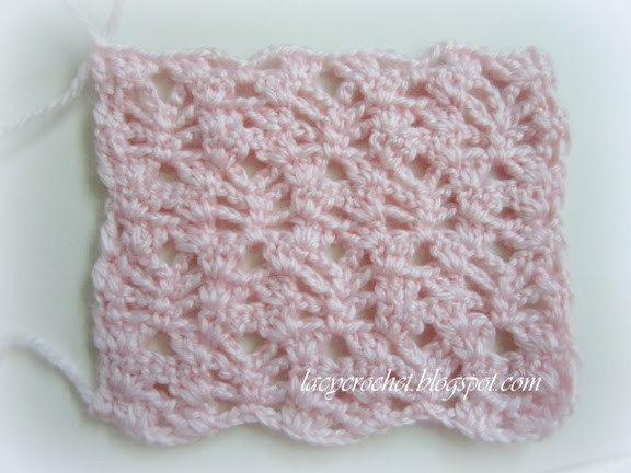 Elegant Lacy Crochet Pretty Lacy Stitch for A Baby Blanket Pretty Crochet Stitches Of Incredible 48 Pics Pretty Crochet Stitches