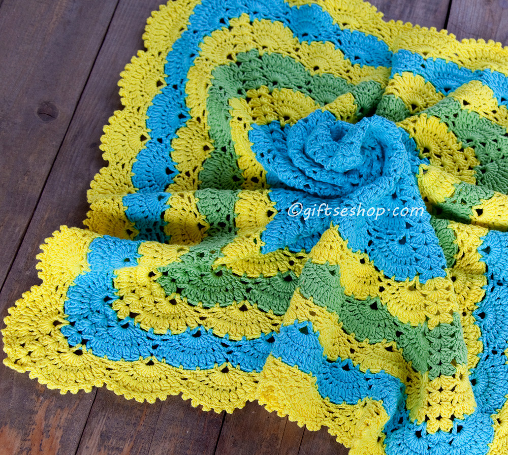 Elegant Lana Creations My Knitting Work Knit Project and Free Shell Stitch Baby Blanket Of Brilliant 49 Images Shell Stitch Baby Blanket