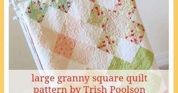 Elegant Large Granny Square Quilt Pattern by Trish Poolson Craftsy Large Granny Square Pattern Of New 47 Photos Large Granny Square Pattern