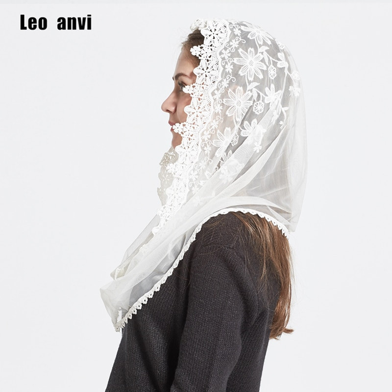 Elegant Leo Anvi 2017 Lace Infinity Scarf Women Ivory White Lace Infinity Scarf Of Charming 45 Ideas Lace Infinity Scarf