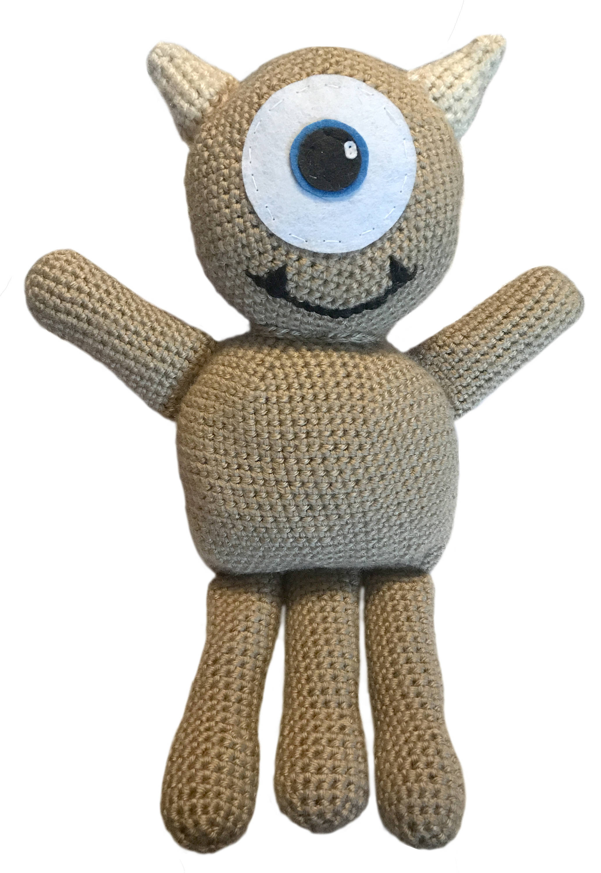 Elegant Little Mikey From Monsters Inc Crochet Pattern Only Mikey Crochet Of New 49 Images Mikey Crochet