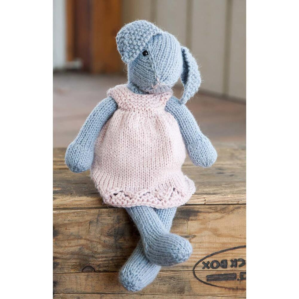 Elegant Lizzie Rabbit Free Knitting Pattern Download ⋆ Knitting Bee Knitted Animals Of Attractive 49 Pics Knitted Animals