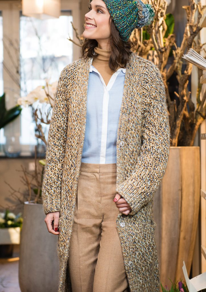 Elegant Long Cardigan In Honey B Pattern Free Knitting Long Cardigan Knitting Pattern Of Adorable 44 Models Long Cardigan Knitting Pattern