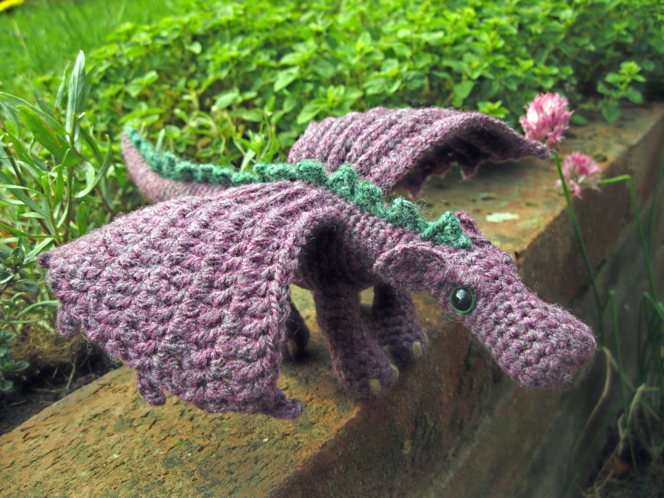 Elegant Lucyravenscar Crochet Creatures Fierce Little Dragon Crochet Dragon Pattern Of Brilliant 50 Pictures Crochet Dragon Pattern