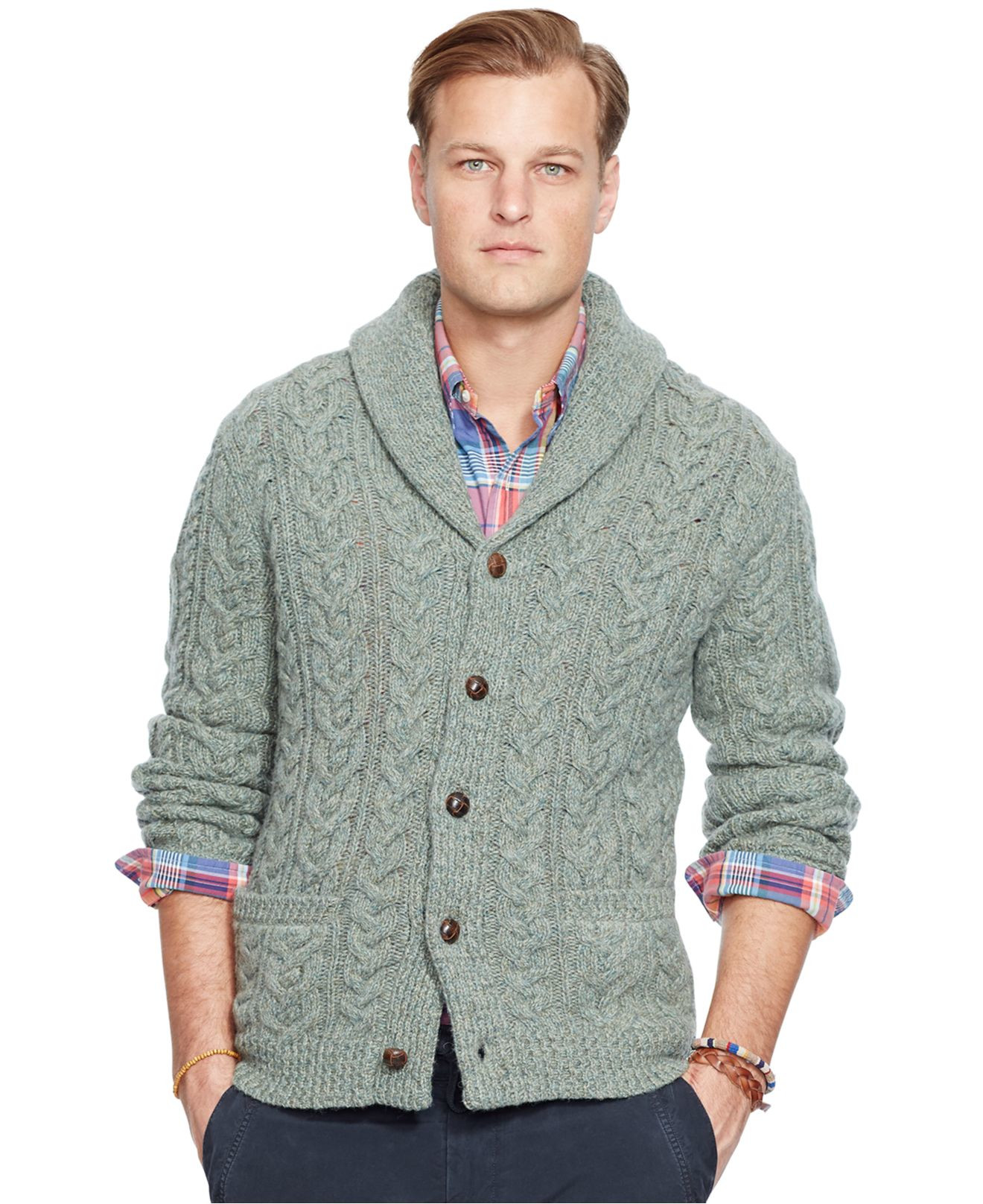 Elegant Lyst Polo Ralph Lauren Big and Tall Cable Knit Wool Cable Knit Cardigan Sweater Of Wonderful 46 Models Cable Knit Cardigan Sweater