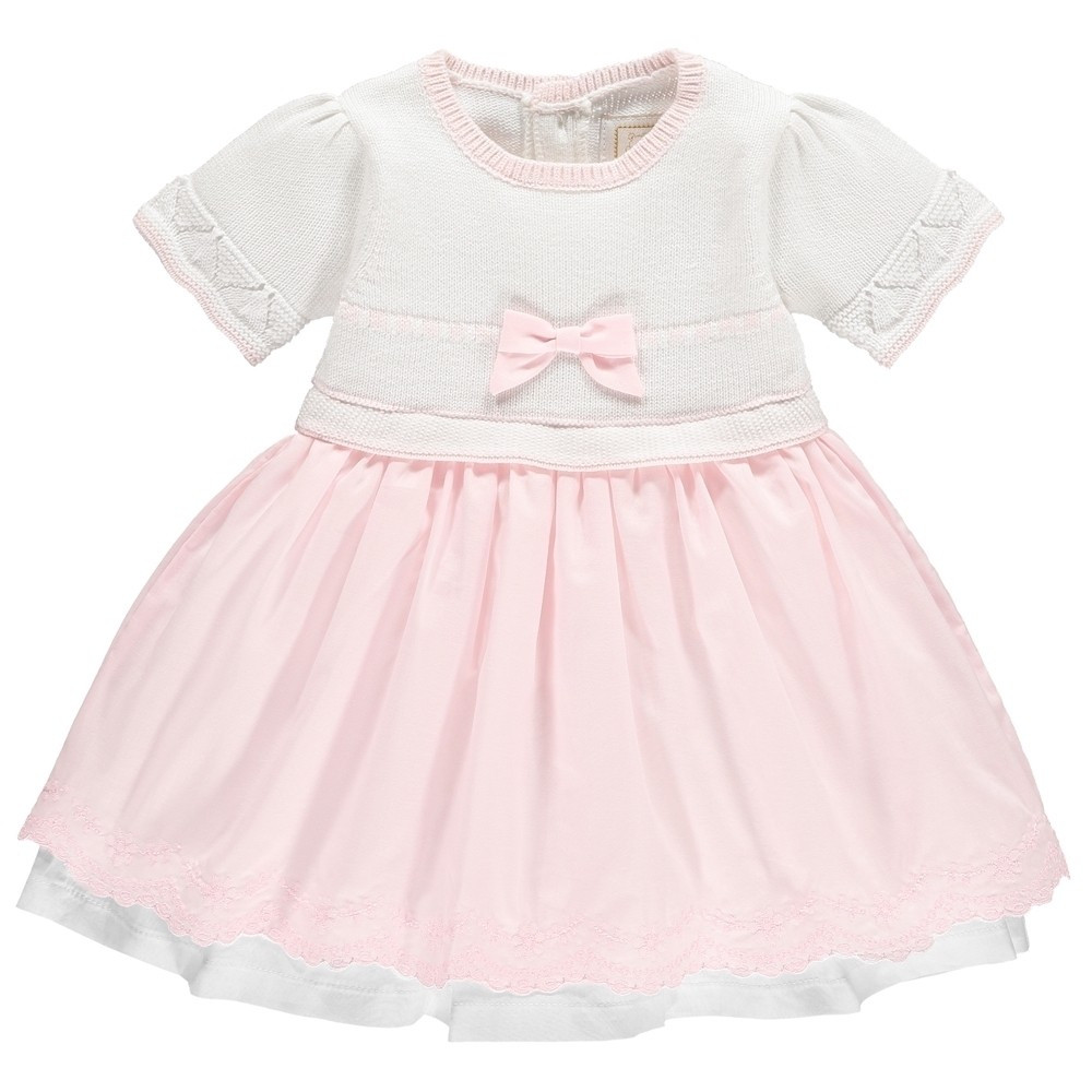 Elegant Malia Baby Girls Knit and Cotton Dress Baby Girl Knitted Dress Of Incredible 47 Photos Baby Girl Knitted Dress
