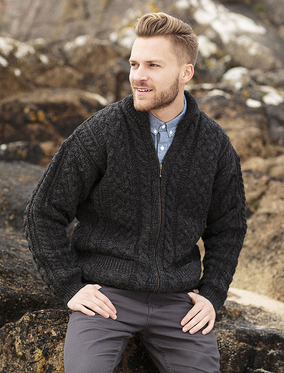 Elegant Men S Irish Knit Cardigan Pattern Sweater Vest Mens Patterned Cardigan Of Charming 50 Models Mens Patterned Cardigan