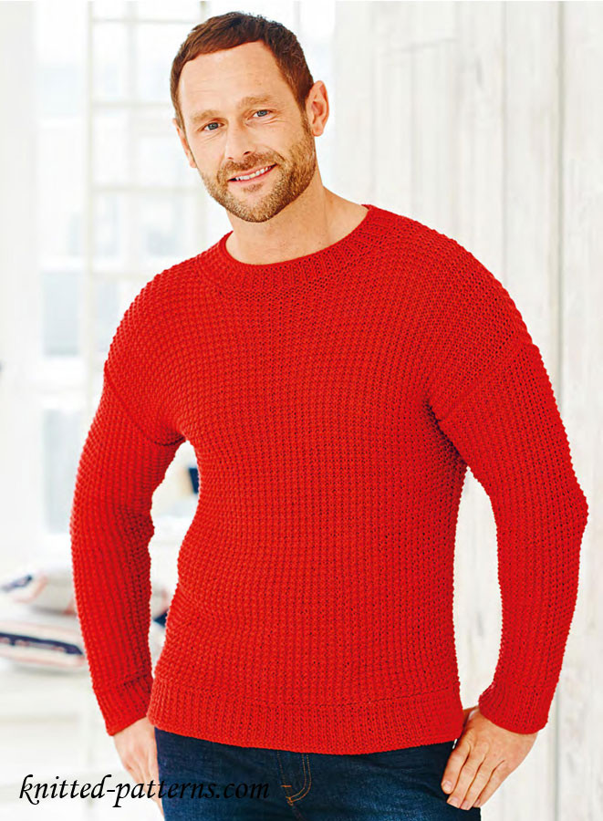 Elegant Men S Pullovers and Sweaters Knitting Patterns Mens Sweater Knitting Pattern Of Adorable 48 Pics Mens Sweater Knitting Pattern