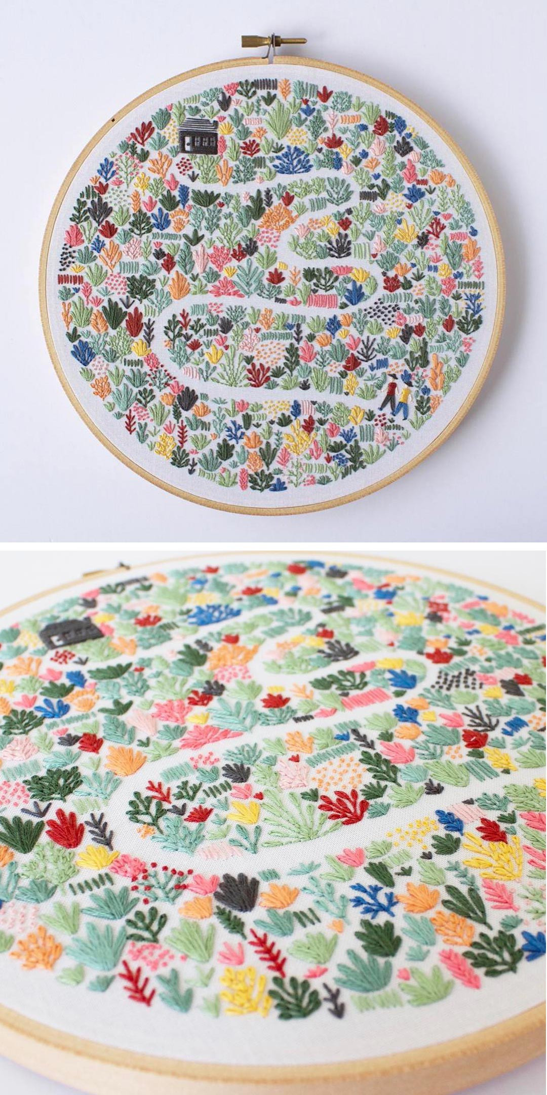 Modern Embroidery Patterns Highlight the Collaborative
