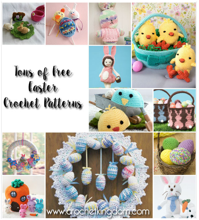 More than 30 Free Easter Crochet Patterns to Print 42