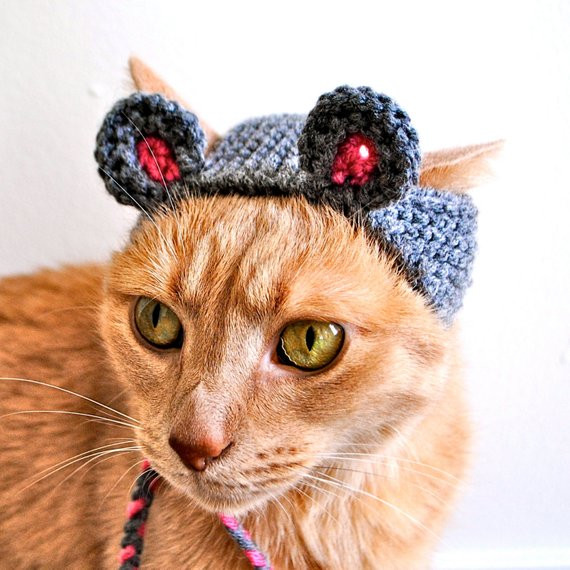 Elegant Mouse Costume for Dogs Hand Knit Dog Hat Dog Halloween Knitted Dog Hats Of Innovative 49 Images Knitted Dog Hats