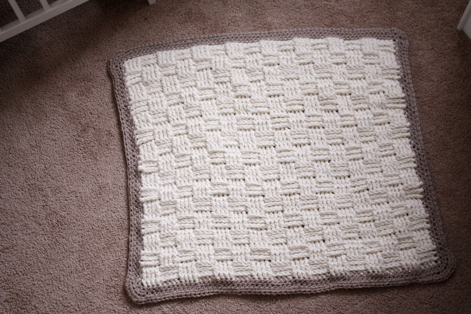 Elegant Nesting Basket Weave Crochet Baby Blanket Basket Weave Blanket Of Amazing 45 Models Basket Weave Blanket