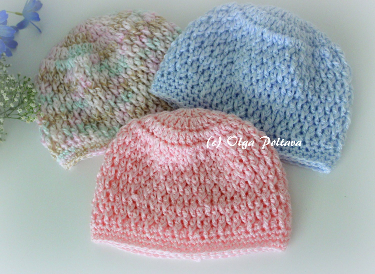 Elegant Newborn Baby Beanie Hat Crochet Pattern Size 0 3 Months Boys Crochet toddler Hat Pattern Of Delightful 40 Ideas Crochet toddler Hat Pattern