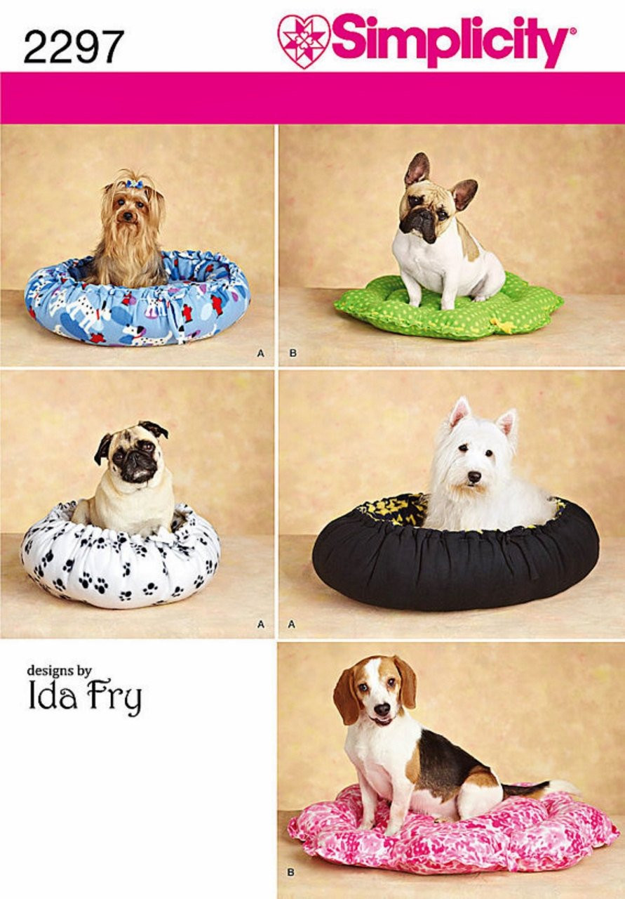 Elegant No Sew Dog Bed Pattern Fleece Dog Bed Pattern Simplicity Dog Sewing Patterns Of Amazing 40 Images Dog Sewing Patterns
