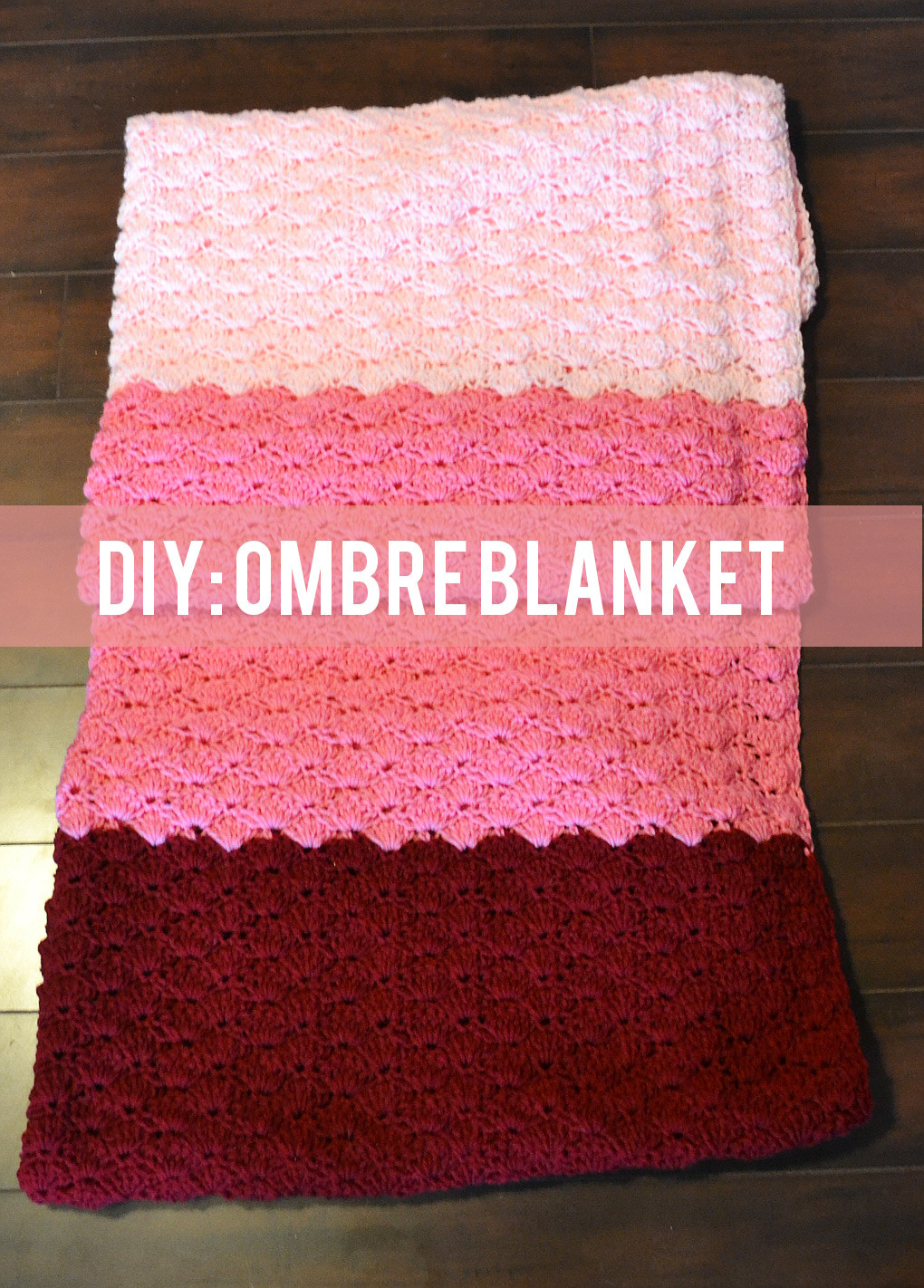 Elegant Ombre Crocheted Blanket Tutorial Crochet Blanket Tutorial Of New 44 Images Crochet Blanket Tutorial