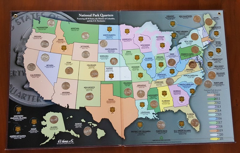 Elegant Our Edventures Blog 5 Tips for Collecting America the Us State Quarter Collection Of Charming 49 Ideas Us State Quarter Collection