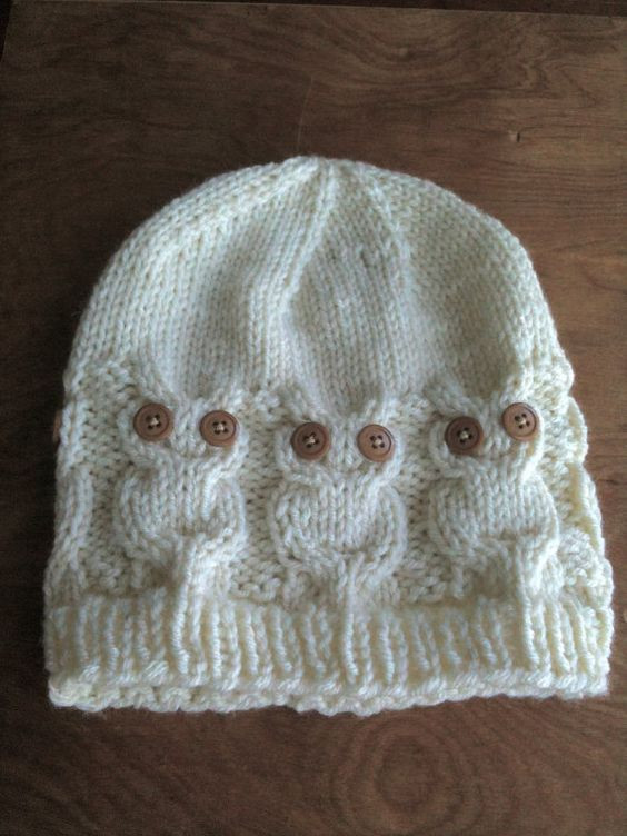 Elegant Owl Knit Hat My Knitting Skills Will Need Improvement Knitted Owl Hat Of Amazing 40 Photos Knitted Owl Hat