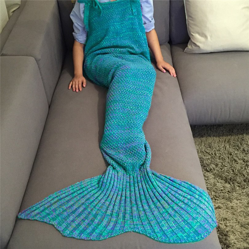 Elegant Pare Prices On Crochet Wraps Patterns Line Shopping Knitted Mermaid Blanket Of Great 41 Images Knitted Mermaid Blanket