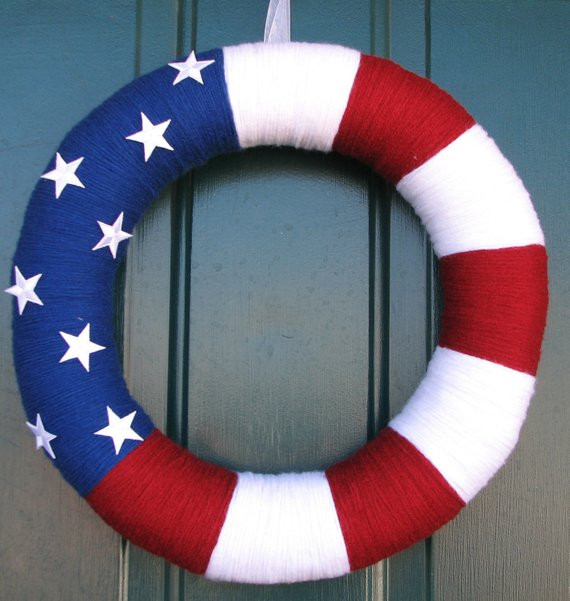 Elegant Patriotic Red White and Blue Yarn Wreath 18 Red White and Blue Yarn Of Awesome 48 Pictures Red White and Blue Yarn