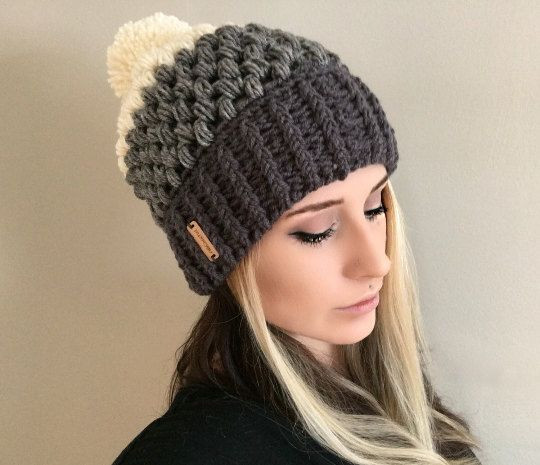 Elegant Pattern Fitted Puff Stitch Beanie Pdf File by Puffy Hat Of Brilliant 44 Ideas Puffy Hat