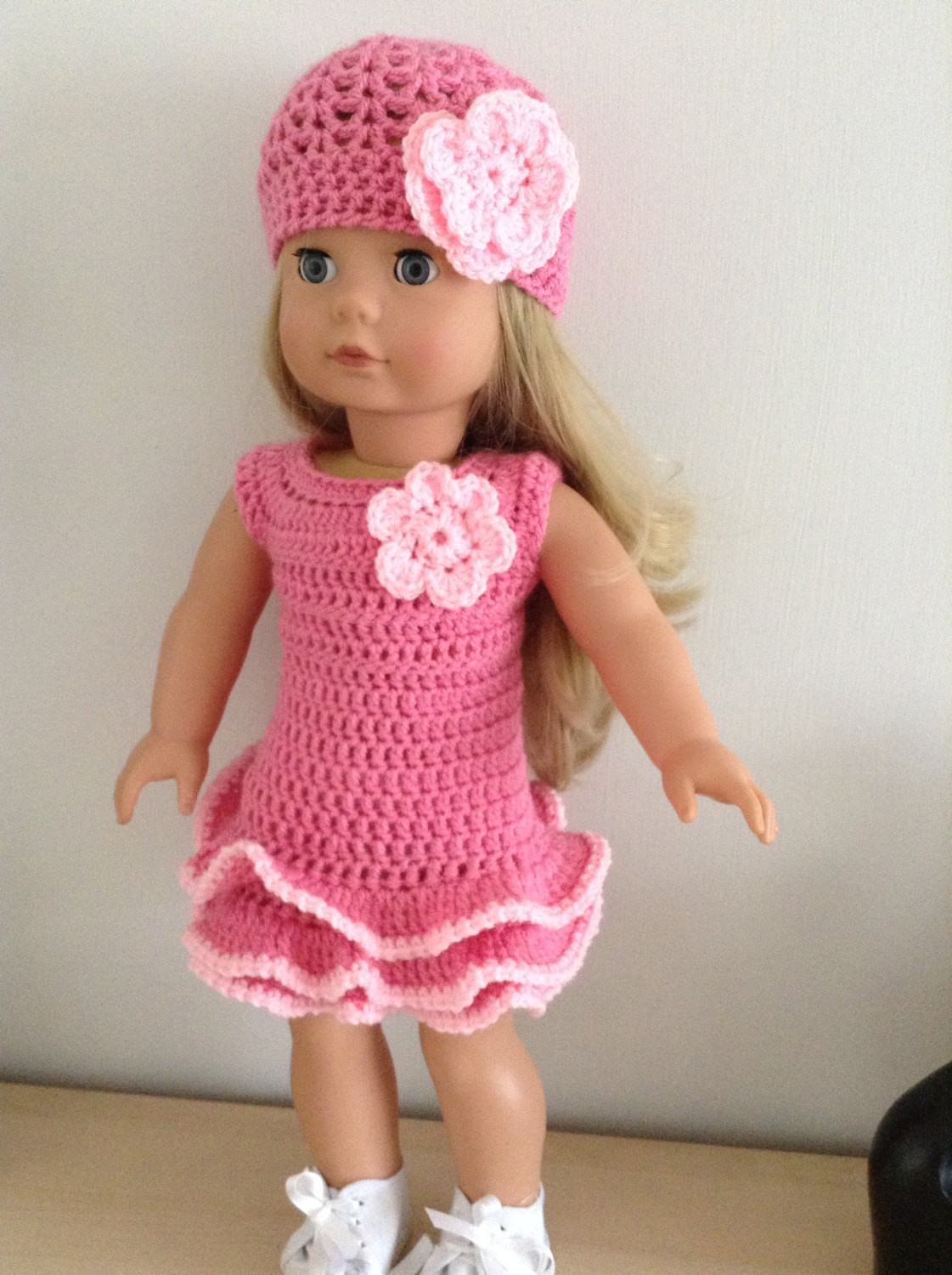 Elegant Pdf Crochet Pattern for 18 Inch Doll American Girl Doll or Free Crochet Patterns for American Girl Dolls Clothes Of Adorable 50 Pictures Free Crochet Patterns for American Girl Dolls Clothes