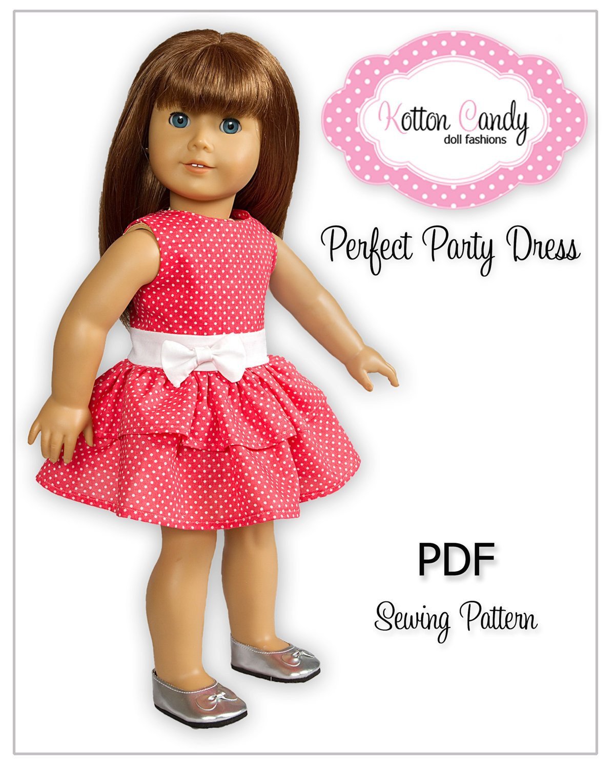 PDF Sewing Pattern for 18 Inch American Girl Doll Clothes