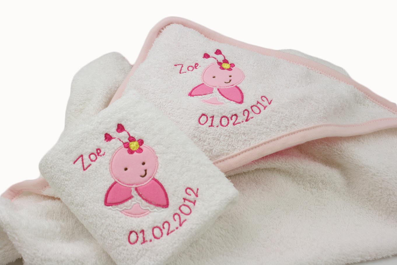 Elegant Personalised Baby Girl Love Bug Embroidered Hooded towel Baby Embroidery Of Gorgeous 42 Ideas Baby Embroidery