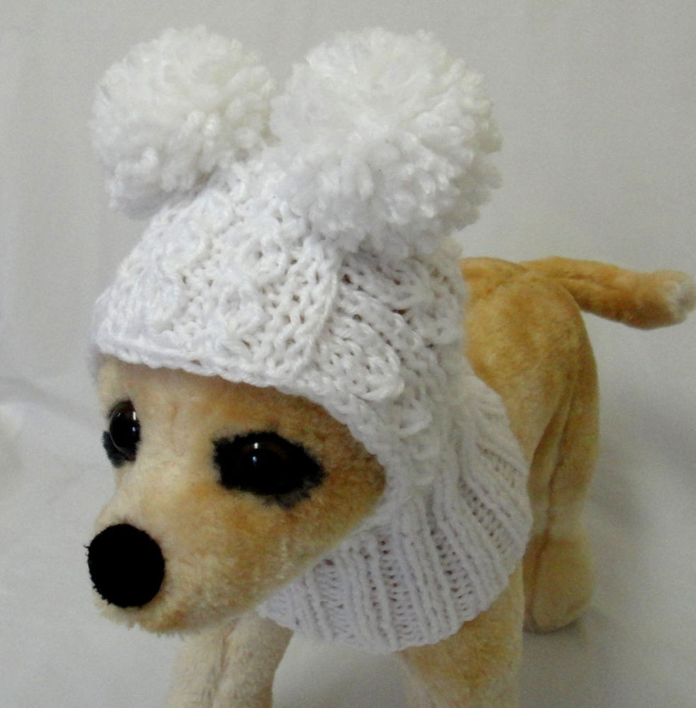 Elegant Pet Clothes Apparel Handmade Knit Hat Hoo Snow Hat for Knitted Dog Hats Of Innovative 49 Images Knitted Dog Hats