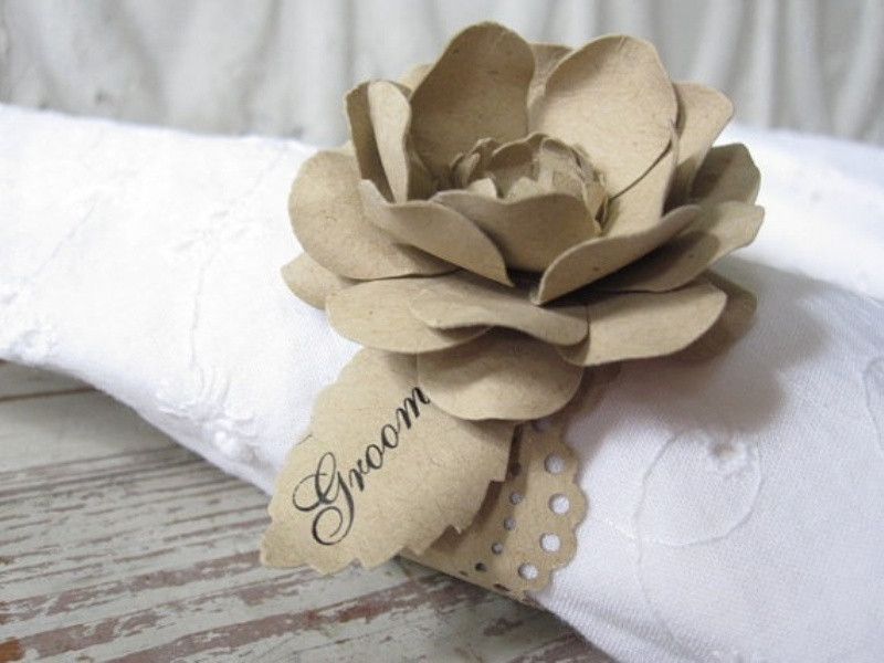 Elegant Picture Creative Napkin Rings Ideas as Pretty Wedding Napkin Ring Ideas Of Innovative 46 Models Napkin Ring Ideas