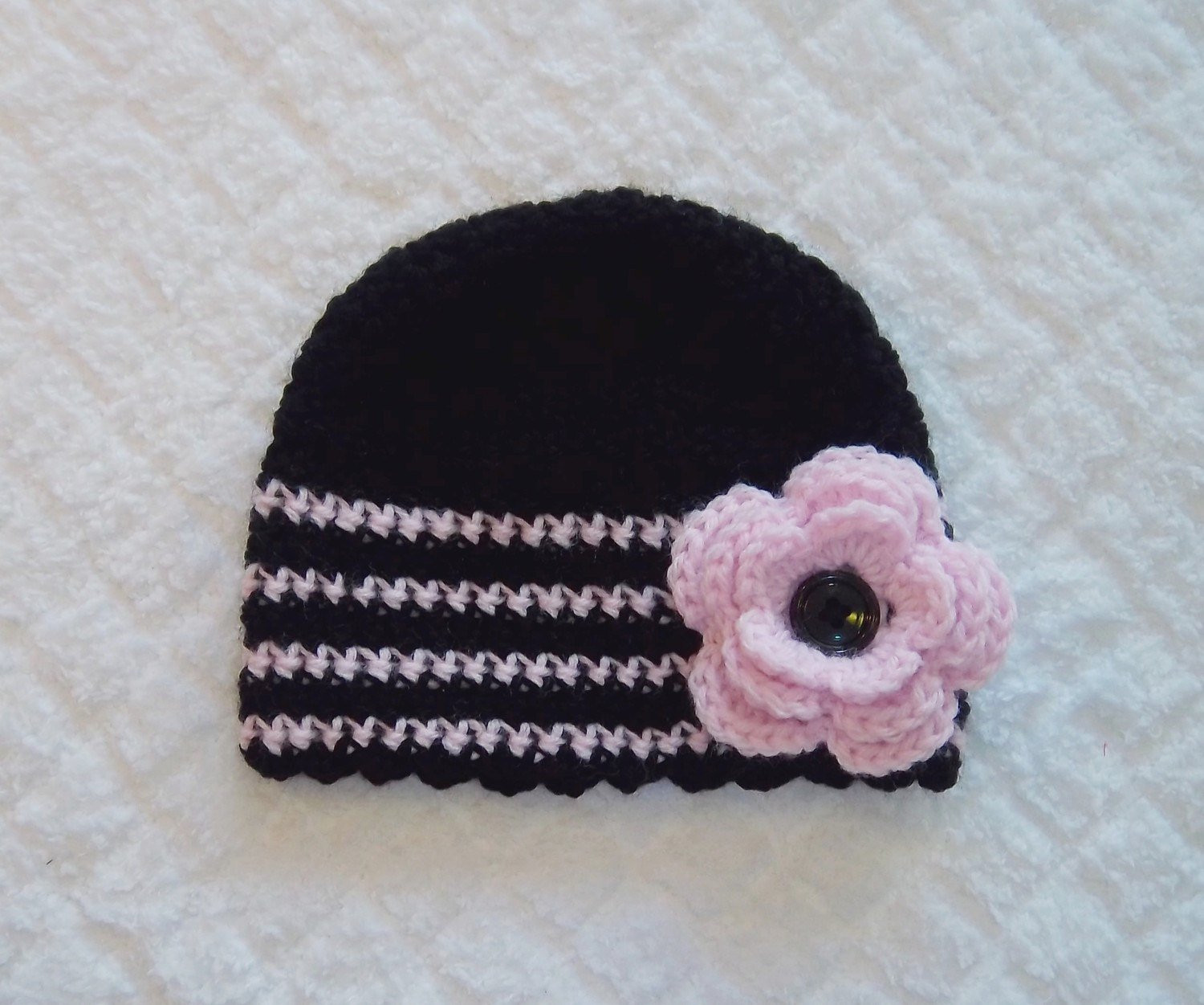 Elegant Pink Baby Girl Crochet Flower Hat Black 6 12 Months Pink Crochet Hat Of Great 43 Models Pink Crochet Hat