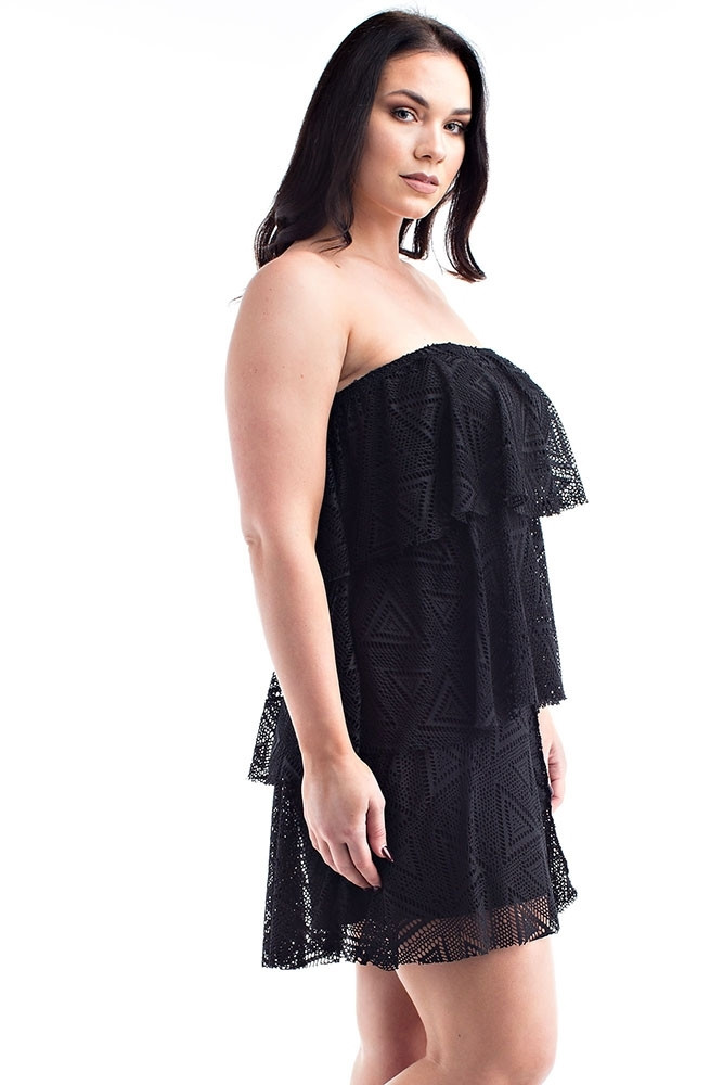 Elegant Plus Size Clothing 1x 2x 3x Crochet Lace F Shoulder Plus Size Crochet Dress Of Attractive 46 Ideas Plus Size Crochet Dress