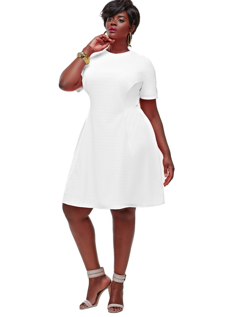 Plus Size Crochet Dress Make You Chic with 8 Style Picture