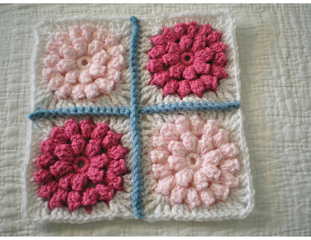 Elegant Popcorn Stitch Afghan Square Popcorn Stitch Crochet Patterns Of Best Of How to Crochet Lazy Popcorn Stitch No Removing Your Hook Popcorn Stitch Crochet Patterns