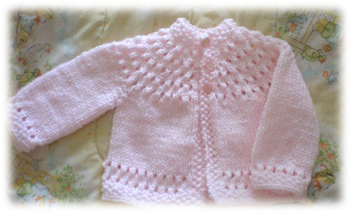Elegant Pretty Baby Sweater ⋆ Knitting Bee Free Knitting Patterns for Baby Sweaters Of Superb 43 Pics Free Knitting Patterns for Baby Sweaters