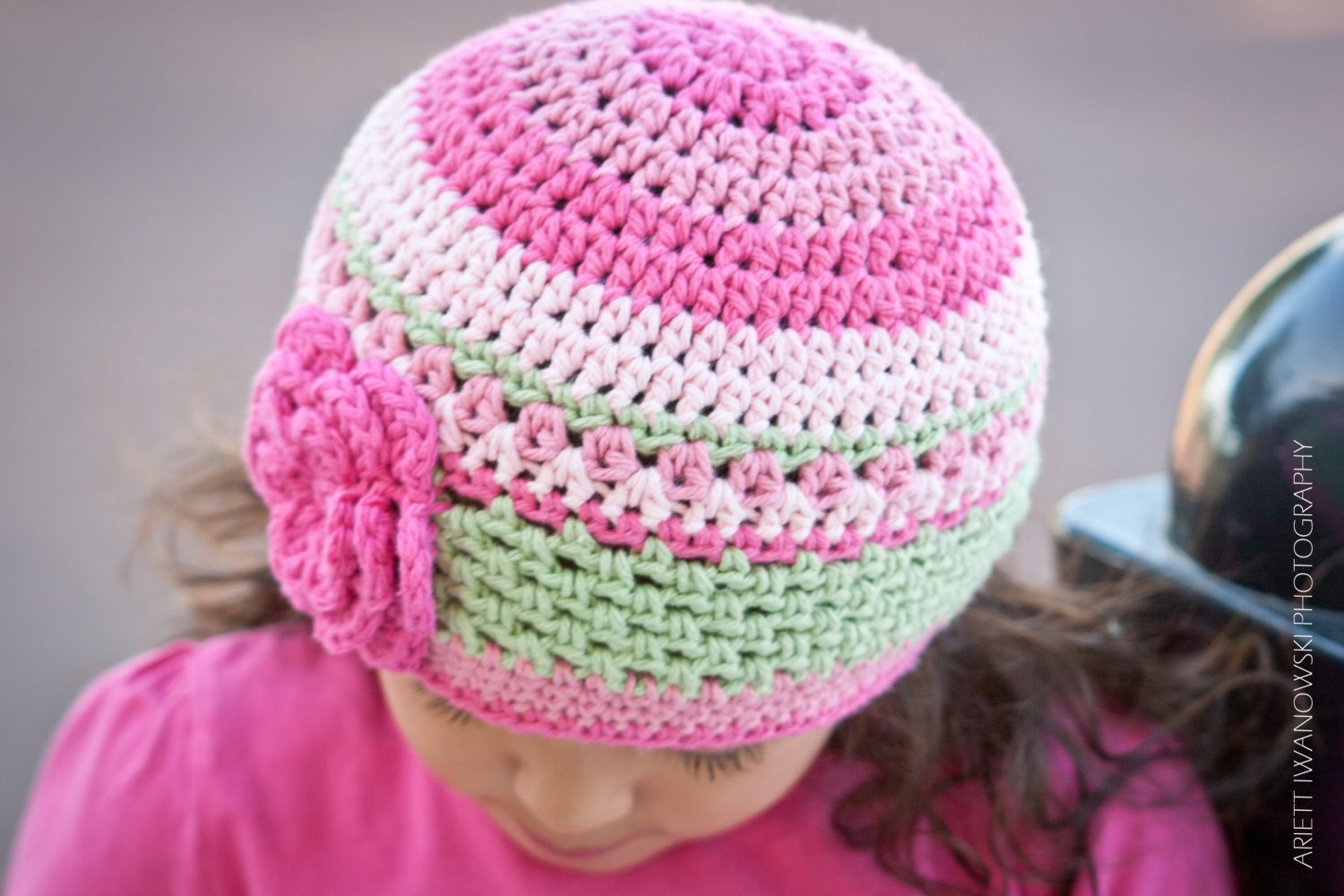 Elegant Pretty In Pink Beanie Crochet Hat Pattern No P114 Digital Pink Crochet Hat Of Great 43 Models Pink Crochet Hat
