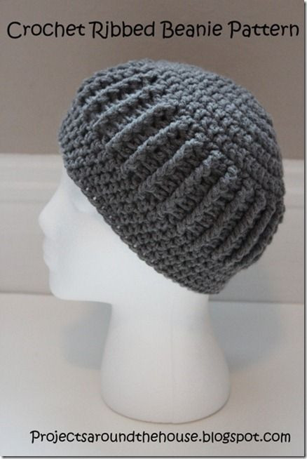 Elegant Projects Around the House Crochet Ribbed Beanie Free Single Crochet Beanie Pattern Of Incredible 48 Pics Single Crochet Beanie Pattern